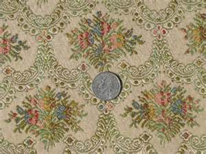 vintage tapestry upholstery fabric antique floral