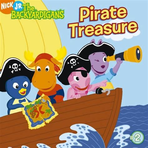 Backyardigans We What We Want Pirate Treasure By Matthew Stoddart Reviews Discussion