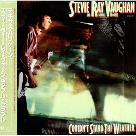 stevie ray vaughan couldnt stand  weather japanese vinyl lp album lp record