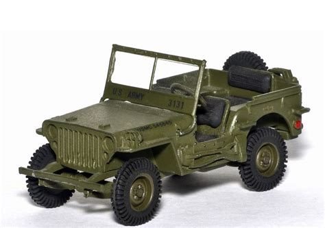 Matchbox Jeep Willys Coklat Muda Matchbox 1943 Jeep Willys Car Die Cast And
