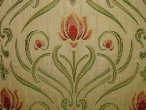 art nouveau upholstery fabric 5m art nouveau tiffany soft gold designer jacquard curtain