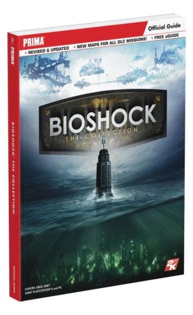 Kaset Ps4 Bioshock The Collection bioshock the collection prima official guide by doug walsh paperback barnes noble 174