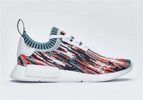 Nike Adidas Nmd 2 adidas nmd r1 primeknit datamosh bb6364 bb6365