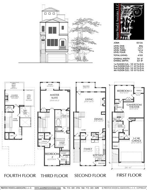 open floor plan townhouse townhouse designs and floor plans house plan 2017