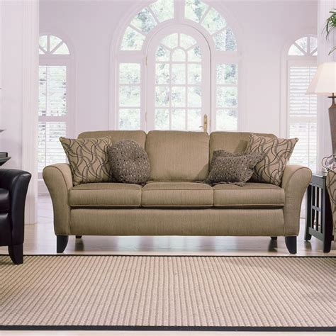 Smith Brothers Upholstery by Smith Brothers 344 Upholstered Stationary Sofa Johnny Janosik Sofas