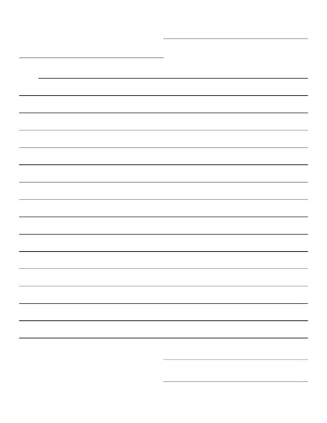 blank friendly letter template prompts