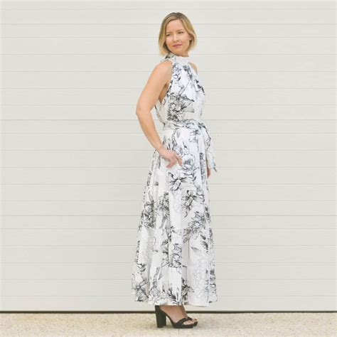high neck design pattern the emma a mommy and me high neck dress pattern by