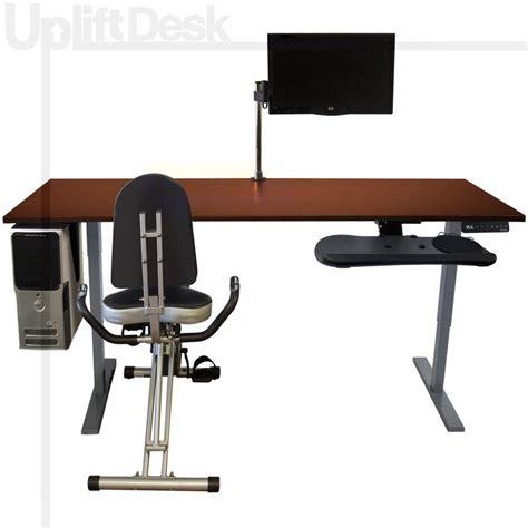 What Size Fitness For Desk by Shop Uplift Complete Height Adjustable Exercise Desks
