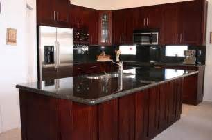 Cherry Wood Kitchen Cabinets With Black Granite Best 25 Cherry Wood Kitchens Ideas On Cherry Wood Kitchen Cabinets Kitchen Ideas
