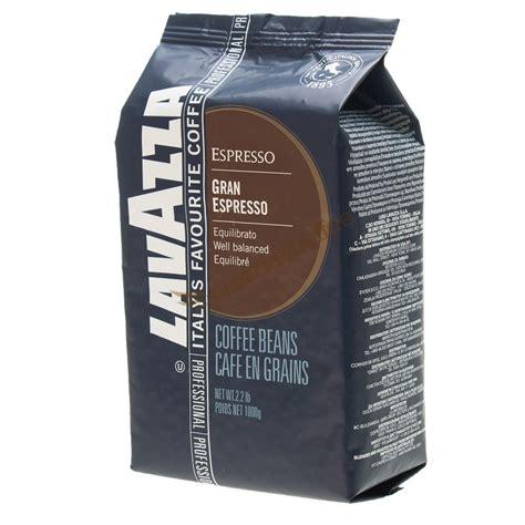 Lavazza Grand Espresso Coffee Beans (1kg)   Lavazza Coffee