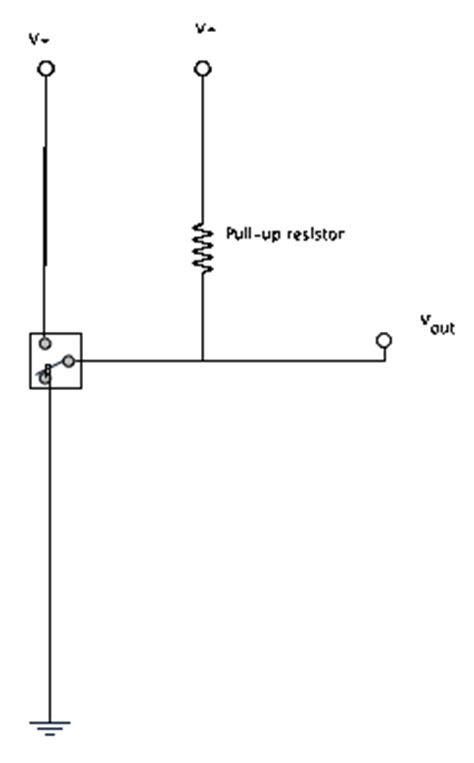 effect pull up resistor introduction to electronics ccrma wiki