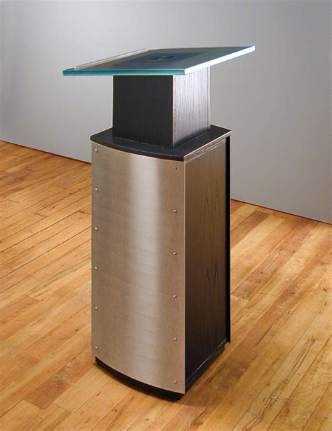 custom modern lectern lecturns and podiums stoneline
