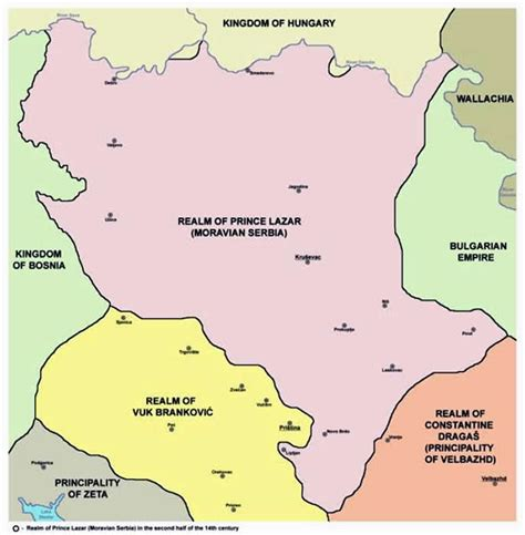 picture information map of moravian serbia