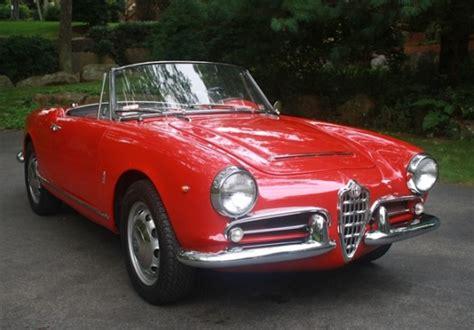 Alfa Romeo 1963 Bat Exclusive 1963 Alfa Romeo Giulia 1600 Spider Bring