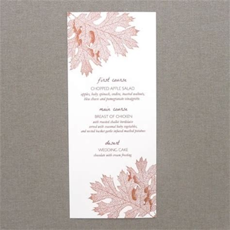 fall menu template menu template fall leaves print