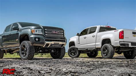 2015 2018 Chevrolet Colorado & GMC Canyon 6 inch