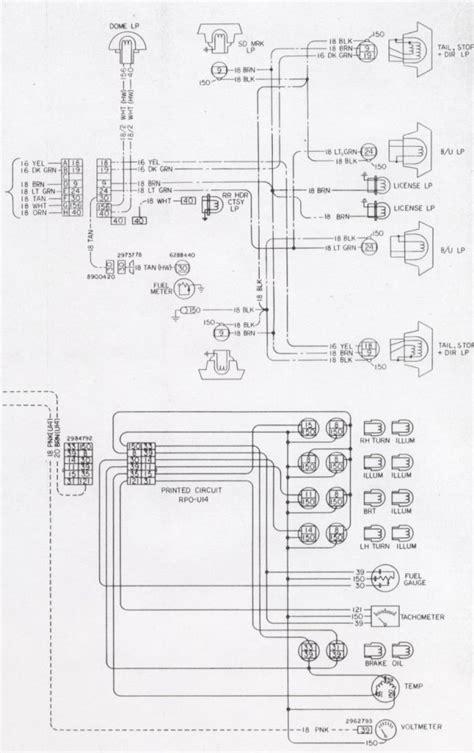 1976 Camaro Tail Light Wiring Schematic
