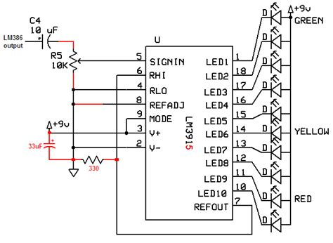 Audio spectrum analyzer chip set
