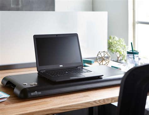 varidesk the adjustable height sit stand desk varidesk soho height adjustable standing desk 187 gadget flow