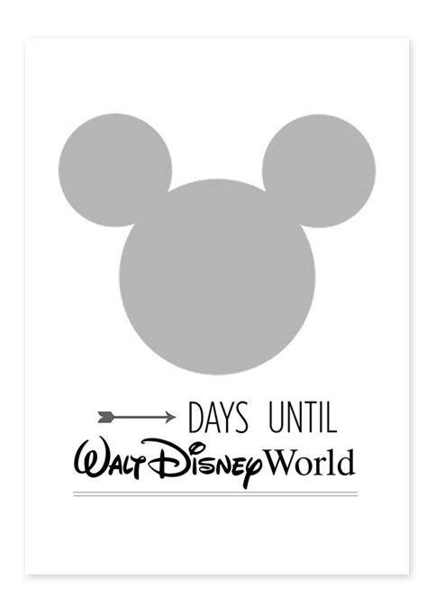 countdown html template free disneyland disney world countdown printable all