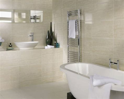 Small Bathroom Large Tiles by Photo Of Large Beige White Ceramic Crown