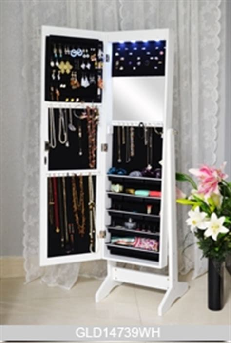 jewellery mirror cabinet with led lights length dressing mirror with storage cabinet for