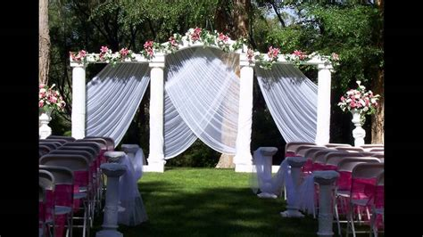 Home Wedding Decoration Ideas Home Garden Wedding Decoration Ideas