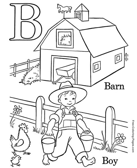 boy writing coloring page alphabet coloring pages b is for boy