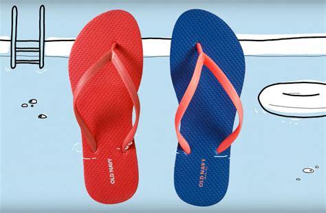 flip flop sale old navy s annual 1 flip flop sale is coming back we ve