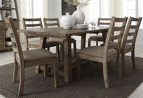 Prescott Valley Upholstery by Prescott Valley Antique Honey 77 Quot Rectangular Dining Room