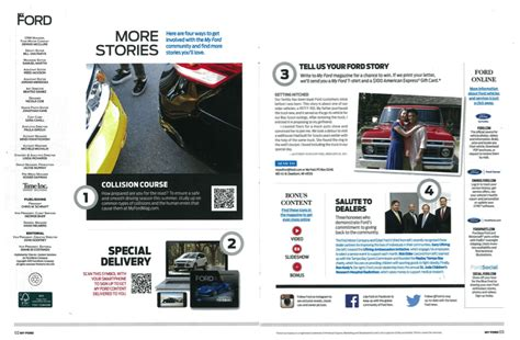 my ford magazine and post purchase engagement