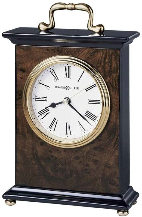 howard miller table clock pricing howard miller berkley 645 577 desk clock the clock depot