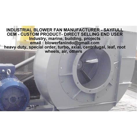 Blower Fan Jakarta Jual Fan Blower Jual Blower Centrifugal Keong Axial Fans Industri Oleh Blowers Fans Industrial
