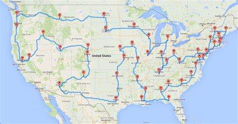 map of the united states road trip world map chicago united states gallery diagram writing