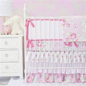 shabby chic crib bedding shabby chic nursery style project nursery