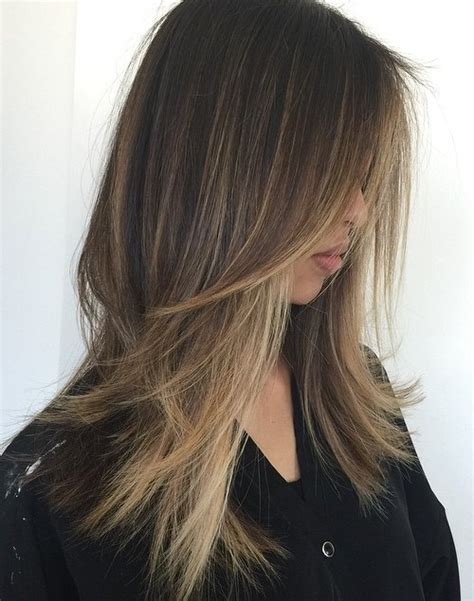 highlight for fine hair 80 cute layered hairstyles and cuts for long hair