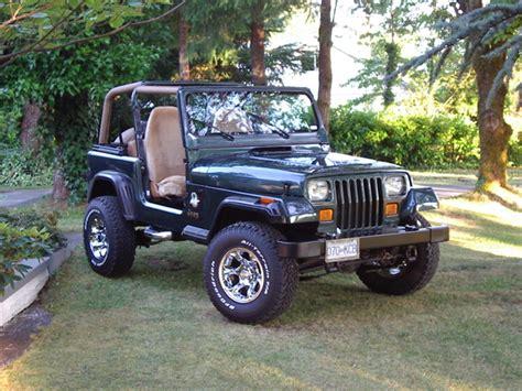 1994 Jeep Yj Specs Greenyj 1994 Jeep Yj Specs Photos Modification Info At