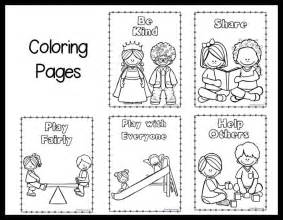 kindness coloring pages free coloring pages of classroom preschool