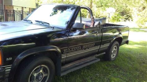 1989 Dodge Dakota Sport Convertible (Rag top) for sale