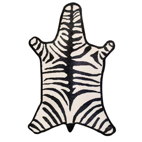 zebra rug jonathan adler zebra rug copy cat chic