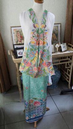 Kebaya Selendang Kamisol Knf 960 peranakan sarong kebaya traditional costume for peranakan in malaysia and singapore