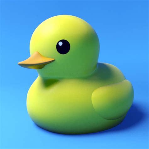 3d Rubber Duck rubber duck 3d model