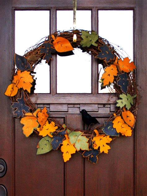 How To Make Fall Decorations At Home Ideas Enchanting Wreath Ideas For Your Home Decor Homihomi Decor