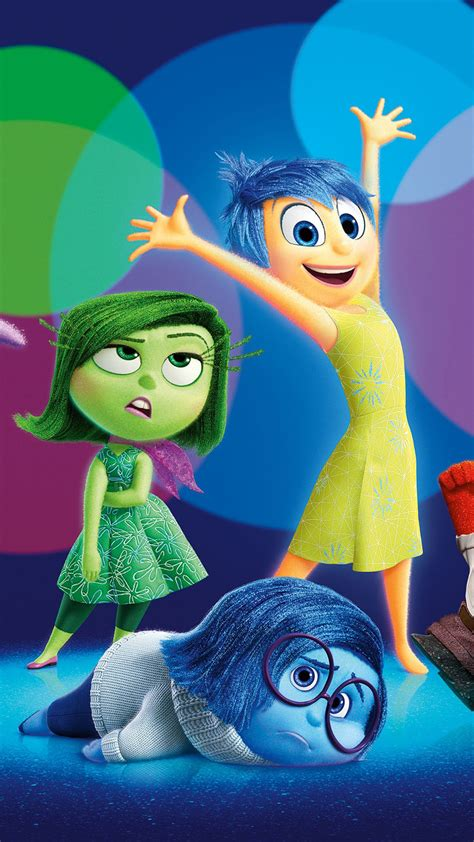 wallpaper for iphone inside out pixar s inside out 2015 wallpaper free iphone wallpapers