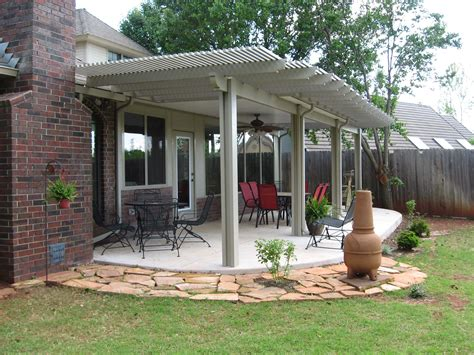 outdoor covered patio ideas relax under a patio cover or arbor in oklahoma city