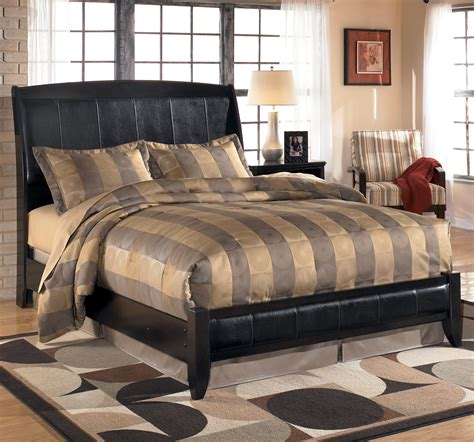 ashley furniture harmony bedroom set signature design by ashley harmony king upholstered sleigh