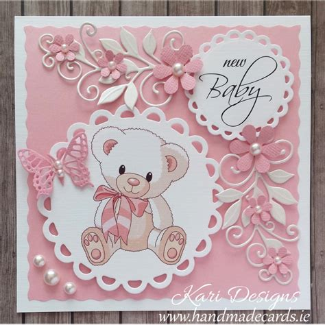Handmade Newborn - handmade new baby boy card