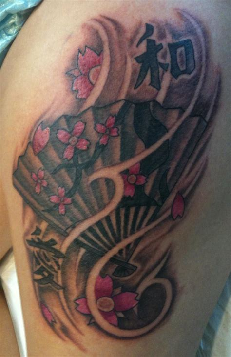 japanese fan tattoo designs japanese fan by joey rodriguez tattoonow
