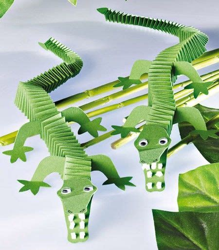 crocodile crafts for 11 best clip images on