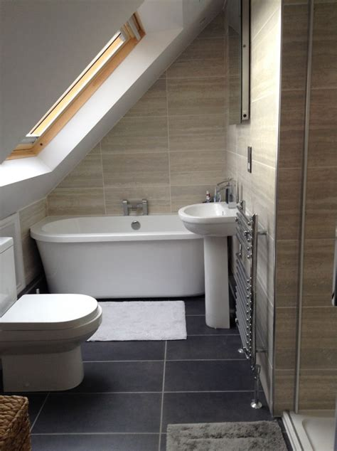 loft conversion bathroom ideas julie from basingstoke shows us how to elegantly transform a loft with sloping roof into a